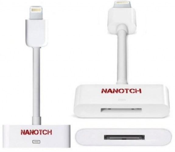 Nanotch $10 Lightning adapter