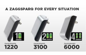 iPhone 5 battery portable ZaggSparq