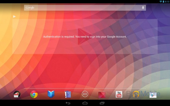 Samsung Nexus 10 Anroid 4.2 Jelly Bean