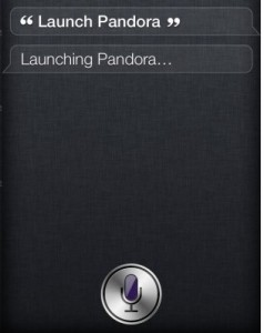 Siri Open Apps in IOS 6