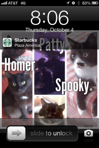 StarbucksPassbookLockscreen