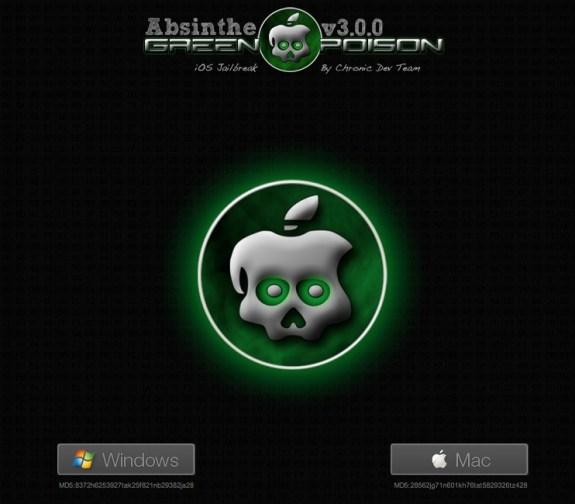 Absinthe iOS 6 jailbreak