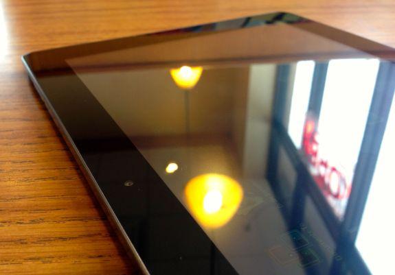 Fujitsu stylistic display refection