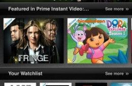 Amazon Instant Video iPhone