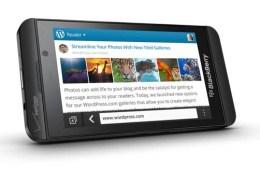 BlackBerry Z10 Verizon