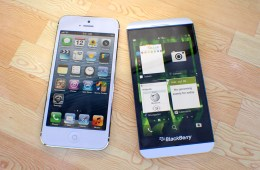 BlackBerry Z10 vs iPhone 5 5 martinhajek
