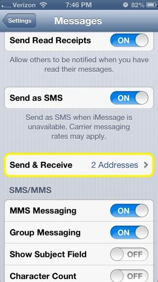 Send & Receive