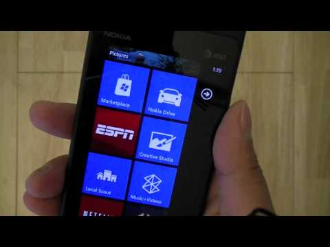 Video thumbnail for youtube video AT&T Lumia 900 Windows Phone 7.8 Update Coming January 30?