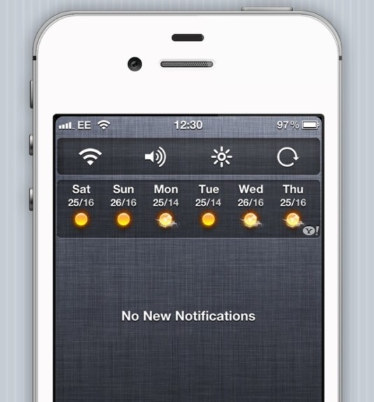 NCSettings Cydia App
