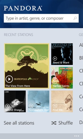 Pandora_for_Windows_Phone
