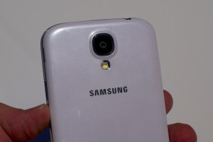 The Samsung Galaxy S4 features a 13MP rear facing camera.