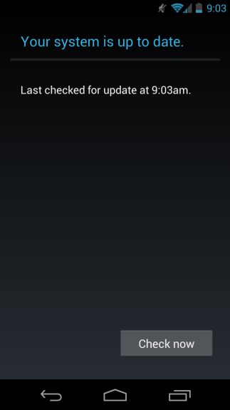 The Verizon Galaxy Nexus Android 4.2 update continues to roll out.