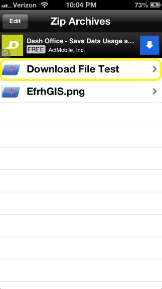 Tap File