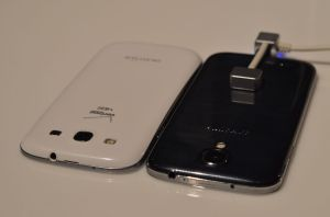 The Galaxy S4 will also compete with the Galaxy S3 when it arrives.