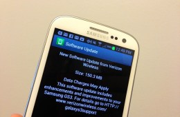 The Verizon Galaxy S3 Android 4.1.2 update is rolling out.