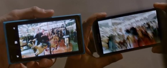 Lumia 920 vs Galaxy S3 image stabilisation