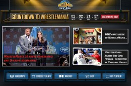 WWE WrestleMania 29 iPad