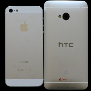 Like the iPhone 5, the HTC One has a non-removable back. The HTC One Nexus likely will as well.