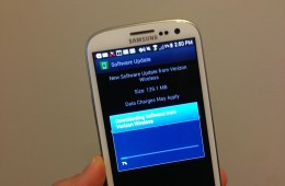 The Verizon Galaxy S3 received a massive update today.
