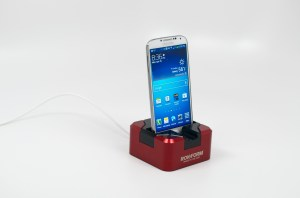 A premium Samsung Galaxy S4 dock.