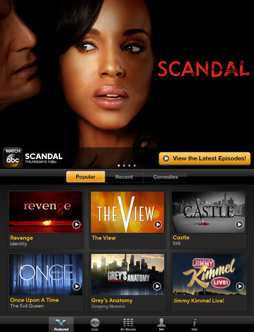 WATCH ABC for iPad