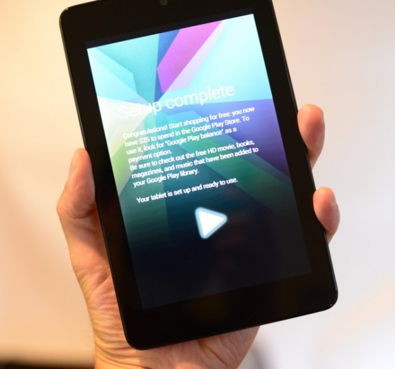 Google will replace the Nexus 7 tomorrow it seems.