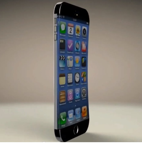 A new iPhone 6 concept features a curved display.