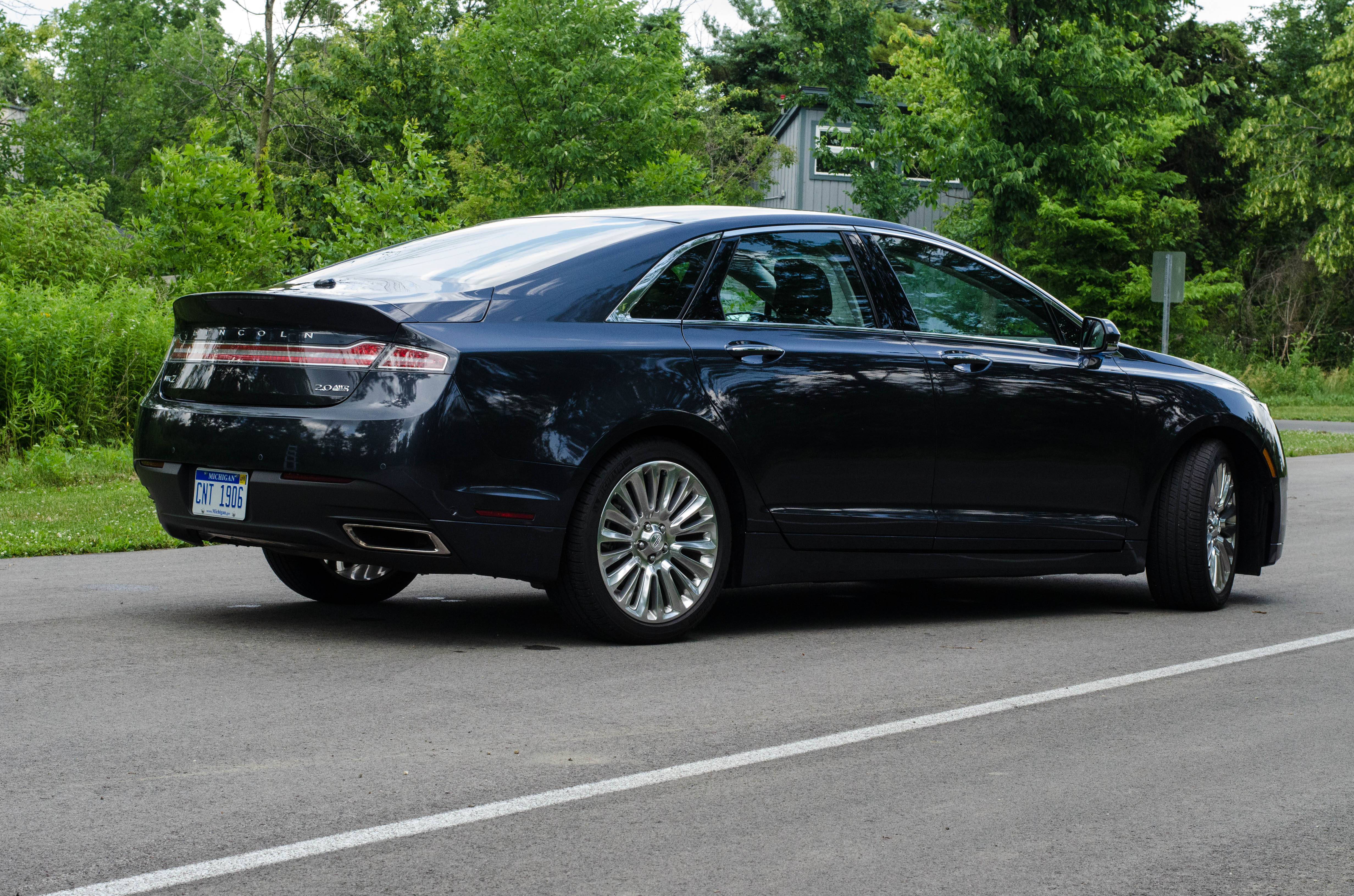 2013 lincoln mkz 2 0 ecoboost awd review video. Black Bedroom Furniture Sets. Home Design Ideas