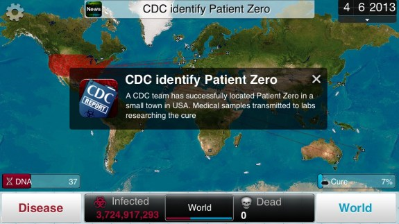 Plague Inc CDC