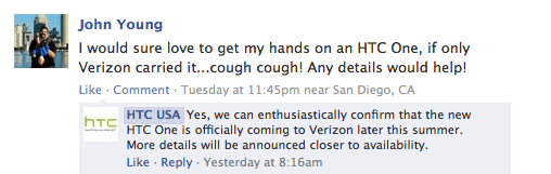 The Verizon HTC One launch is painful to watch.