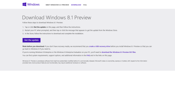 get windows 8.1 now 1
