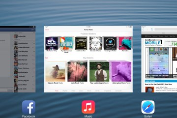 The iPad iOS 7 Beta is here with a new look for the iPad.