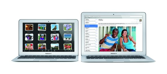 Apple introduced new MacBook Air models at WWDC 2013.
