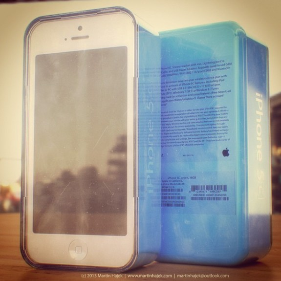 The iPhone 5C, if real, would join the iPhone 5S.