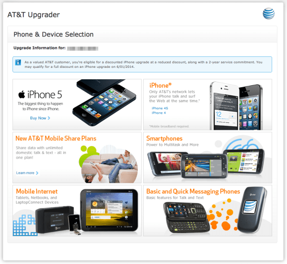 AT&T Premier - Phone & Device Selection