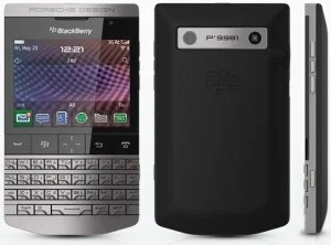 BlackBerry Porsche Design P'9981 based off of the BlackBerry Bold 9900 experience.