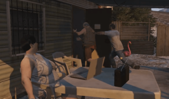 Go bounty hunting in GTA 5.