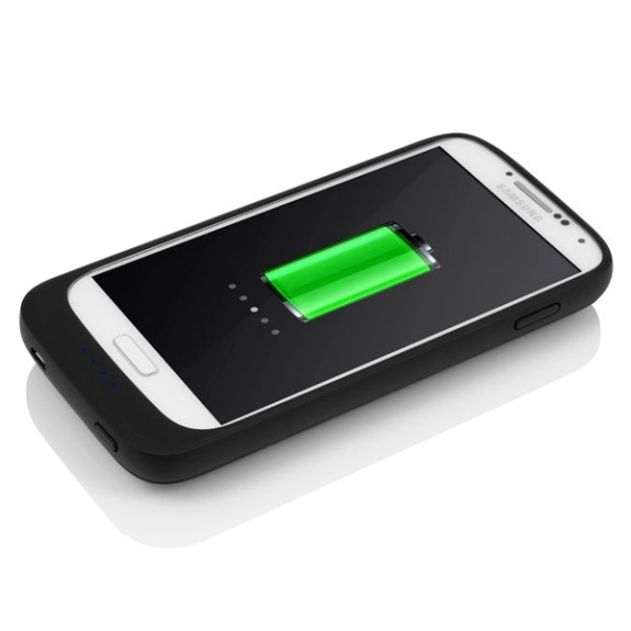 The Incipio Samsung Galaxy S4 battery case.