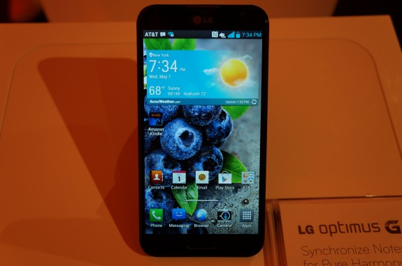 The LG Optimus G Pro may be heading to Verizon.