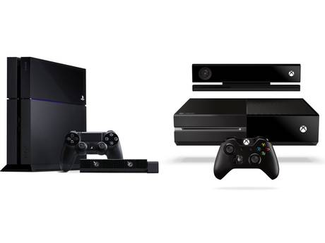 The PlayStation 4 and Xbox One entertainment consoles.