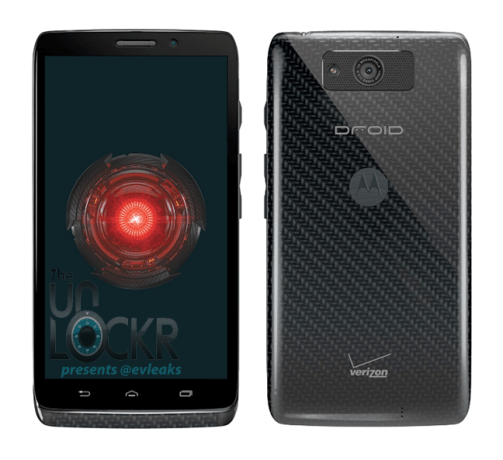 This is said to be the Droid Ultra.