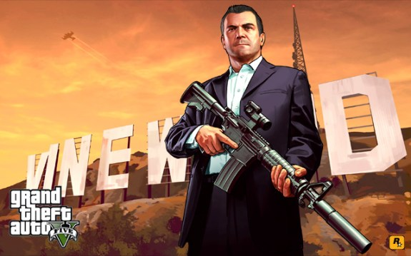 Pick up free weapons at any gun shop in GTA 5 single player mode.