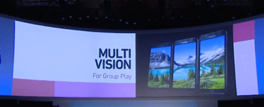 Multi Vision is a new Galaxy Note 3 feature.