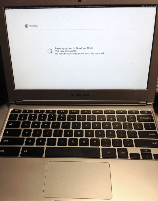 chromebook reset