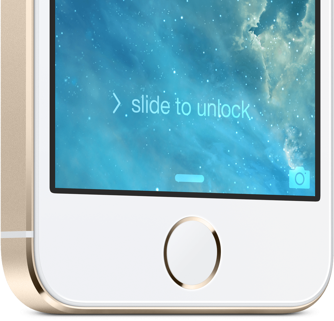 how to use touch id in iphone 5s