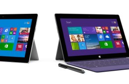 The Surface 2 and Surface Pro 2