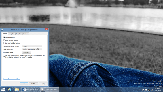 How to Add a Background to the Start Screen in Windows 8 (4)