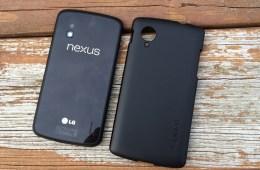 Nexus 4 vs Nexus 5 design.