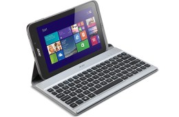 The Acer W4 with its optional keyboard dock.