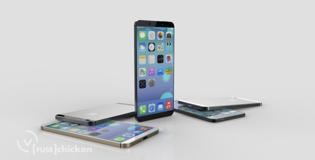 iPhone 6 concept: Fuse Chicken shares a iPhone Air concept.